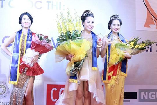 Những thí sinh đoạt giải cao nhất của cuộc thi Nữ hoàng sắc đẹp Việt Nam 2014