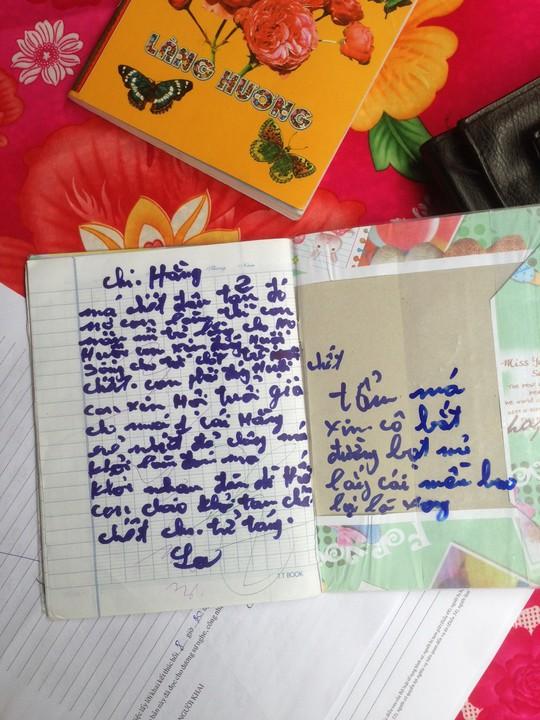 Lá thư tuyệt mệnh của bà Lạc