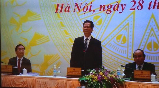 """Thủ tướng Nguyễn Tấn Dũng chủ trì hội nghị """"Thủ tướng với Doanh nghiệp năm 2014"""" được đánh giá lớn nhất từ trước đến nay"""