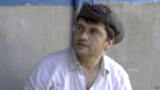 Con tin Thụy Sĩ Lorenzo Vinciguerra. Ảnh: AP