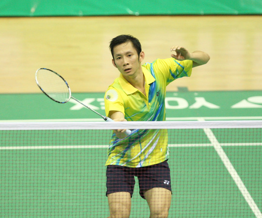 Tiến Minh dễ dàng giành quyền vào vòng 2 giải cầu lông Mỹ mở rộng 2014