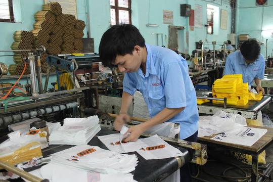 Công nhân Công ty CP Bao bì Vafaco luôn hưởng ứng tích cực các phong trào do Công đoàn phát động