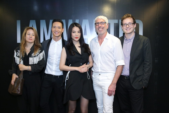 Ê kíp sản xuất I am wanted ra mắt báo giới Hà Nội