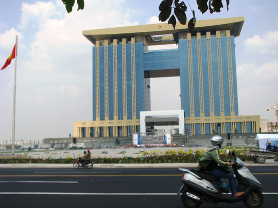 Tòa nhà Trung tâm hành chính tập trung của Bình Dương
