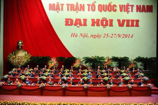 Đại hội đại biểu toàn quốc MTTQ Việt Nam lần thứ VIII