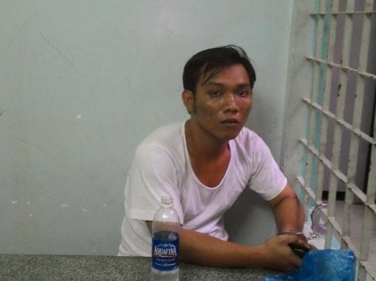 và Tô Anh Tuấn tại công an.