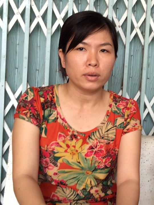 Bà Nguyễn Thị Xuân Đào trình bày việc bị bà Tỵ quỵt tiền