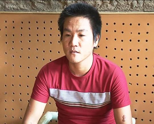 Đối tượng Trần Trung Thành tại cơ quan điều tra