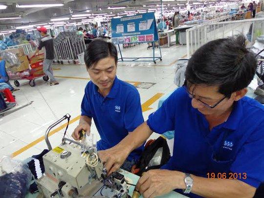 Thi thợ giỏi tại Công ty Triple Việt nam