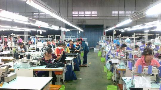 Côn ty Triple Việt Nam (huyện Củ Chi, TP HCM) là doanh nghiệp chăm lo tốt đời sống vật chất, tinh thần cho công nhân