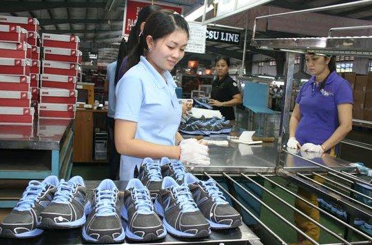 Công đoàn Công ty Việt Nam Samho làm tốt công tác ổn định tâm lý công nhân ẢNH: KHÁNH AN
