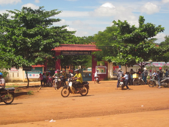 Trường TH Thiện Hưng A (huyện Bù Đốp, tỉnh Bình Phước).