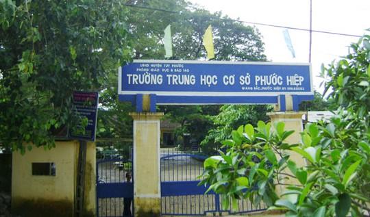 Mua bán và sử dụng bằng giả, một NVYTHĐ Trường THCS Phước Hiệp đang đối mặt với án tù