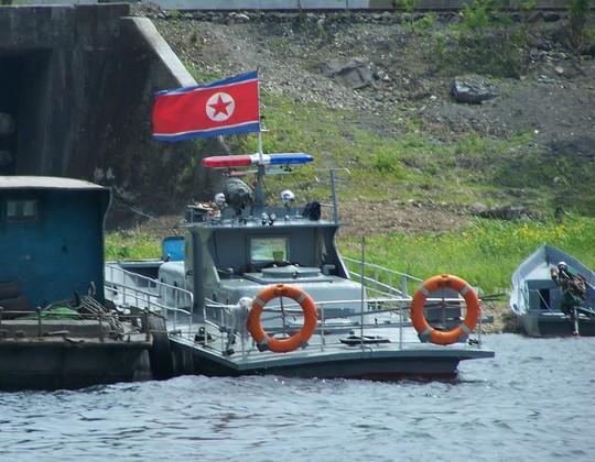 Tàu tuần tra của Triều Tiên. Ảnh minh họa: panoramio.com