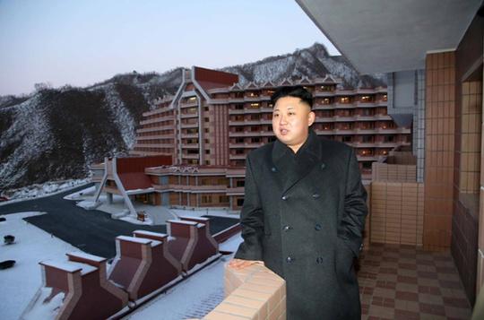 """Ông Kim Jong-un gọi công trình là """"tâm điểm chú ý của thế giới"""""""