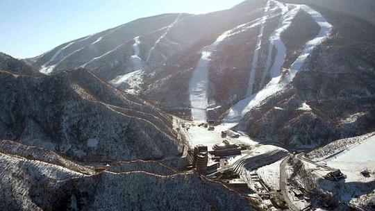 ...với tổng cộng 10 đường trượt tuyết