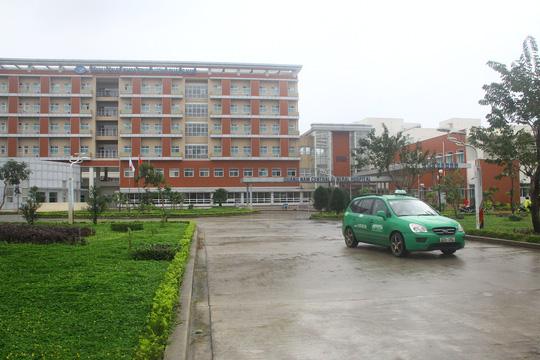 Ảnh: Bệnh viện Đa khoa Trung ương Núi Thành, nơi gia đình chị Lan nhập viện. Ảnh Q.Vinh