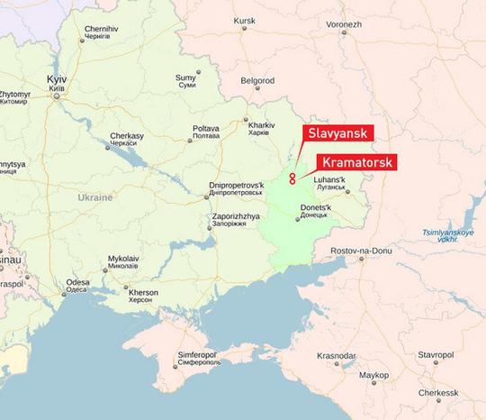 Nguồn: Yandex Map