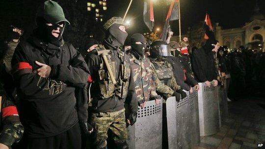 Ukraine: Thủ lĩnh cực hữu không phải bị bắn chết