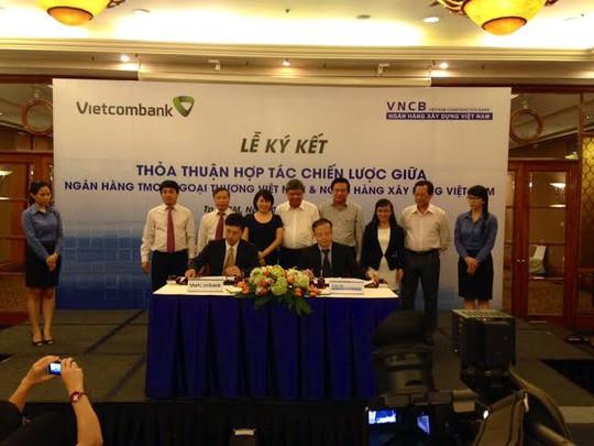 Vietcombank và NH Xây dựng (VNCB) ký thỏa thuận hợp tác toàn diện
