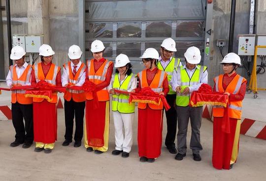 Holcim Việt Nam đã khánh thành các công nghệ sản xuất xanh mới vào sáng 30-9