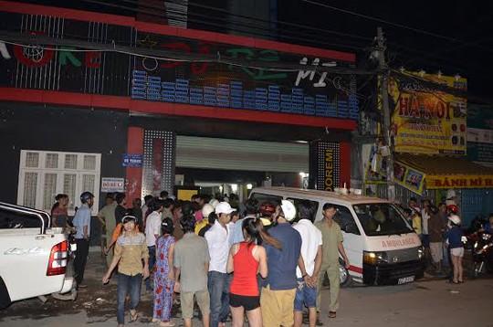 Quán karaoke, nơi xảy ra vụ tai nạn