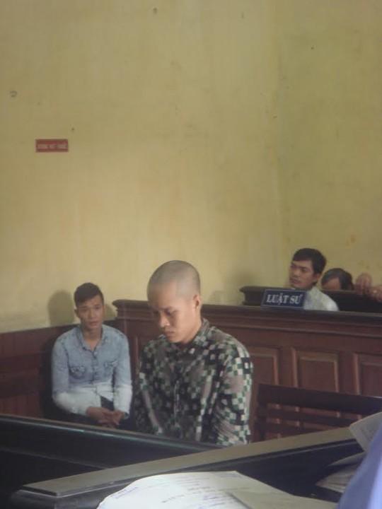 Bị cáo Luận tại phiên phúc thẩm