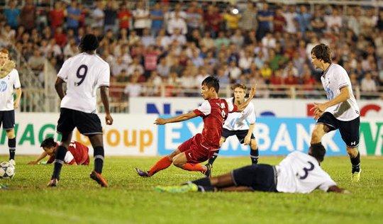 Một trận đấu ngoan cường của U19 VN