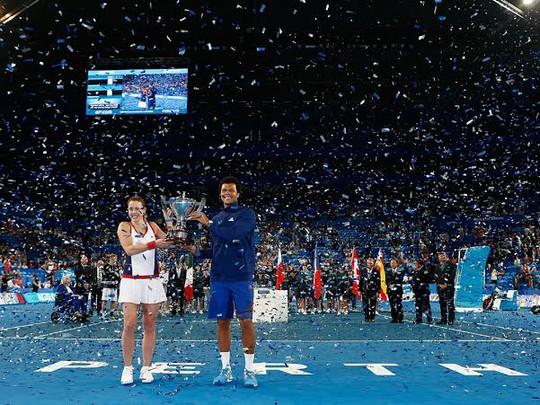 Tuyển quần vợt Pháp đoạt chức vô địch Hopman