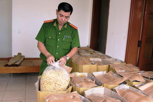 Số bim bim bị bắt giữ khoảng 1,2 tấn
