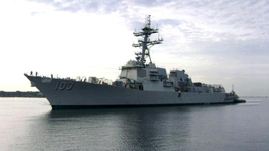 Tàu USS Truxtun. Ảnh: Wikipedia