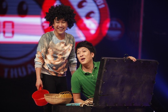 Don Nguyễn và Trường Giang chọc cười khán giả