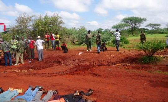 Hồi giáo al Shabaab hành quyết 28 người không theo đạo. Ảnh: Reuters