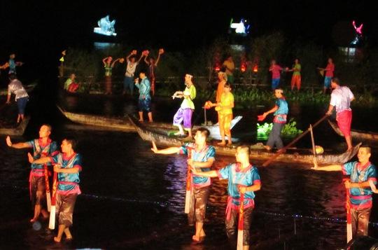 Lễ hội văn hóa mùa nước nổi rất đặc sắc