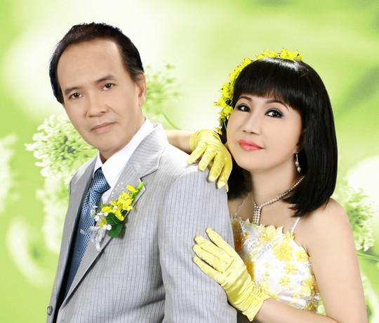 Vợ chồng NSƯT Thanh Điền và NSƯT Thanh Kim Huệ
