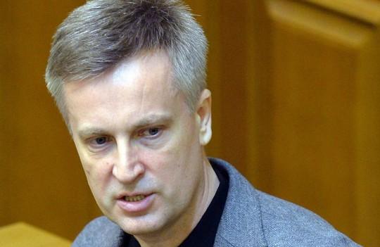 Người đứng đầu SBU Valentin Nalivaichenko. Ảnh: rus.delfi.ee