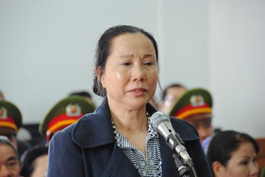 Nguyễn Thị Vân đề nghị giảmán cho nhóm bị cáo NH