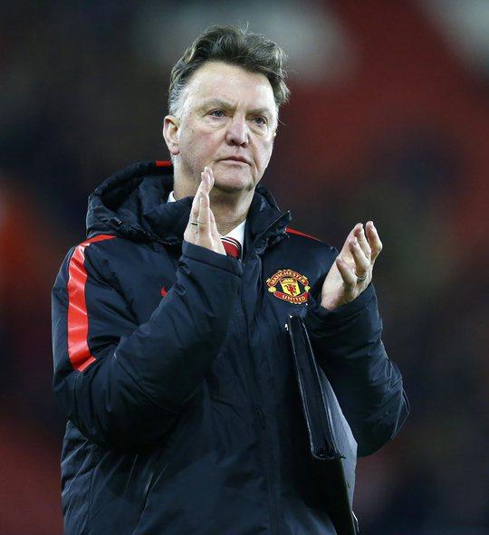 HLV Van Gaal vẫn tự tin với cách huấn luyện của mình