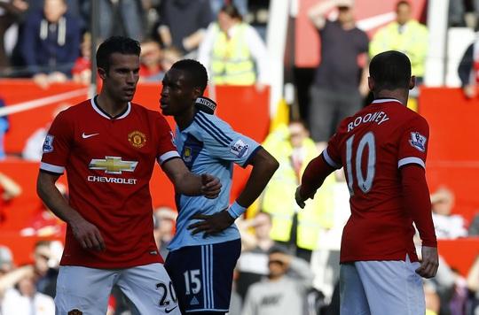 Van Persie và Rooney của M.U