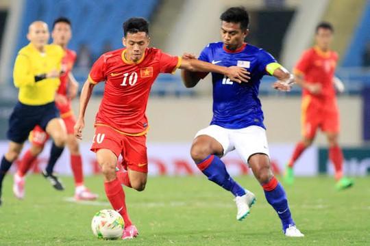 Tiền đạo Văn Quyết của U23 Việt Nam sẽ lại đối đầu với đối thủ khó chịu Malaysia