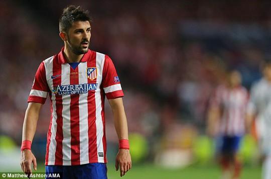 David Villa cũng đã đồng ý sang Mỹ thi đấu
