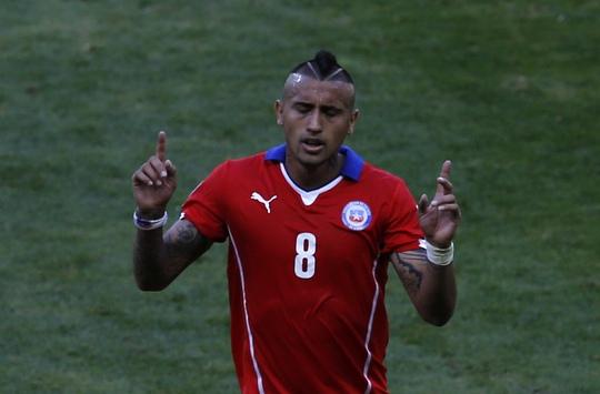 Vidal cũng cầu thủ quan trọng của Chile ở World Cup 2014