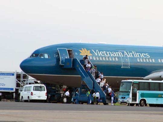 Vietnam Airlines tăng thêm 500.000 ghế dịp hè 2014. Ảnh minh họa