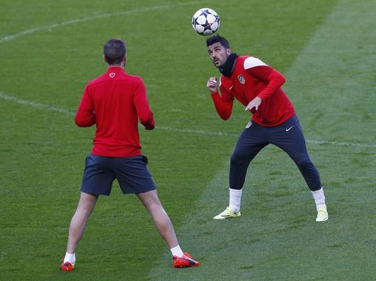 D. Villa sẵn sàng cho trận đấu lớn