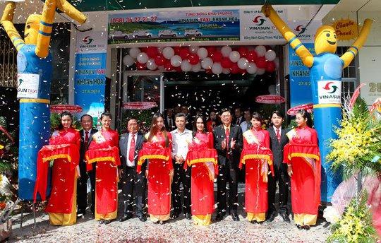 Khai trương chi nhánh taxi Vinasun tại TO Nha Trang, tỉnh Khánh Hòa