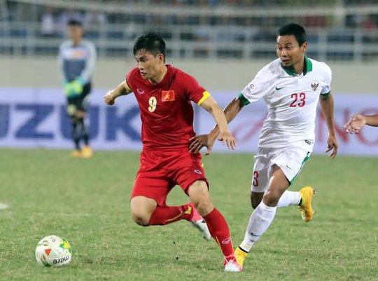 Công Vinh, người đã ghi bàn nâng tỉ số lên 2-1 cho Việt Nam trước Indonesia