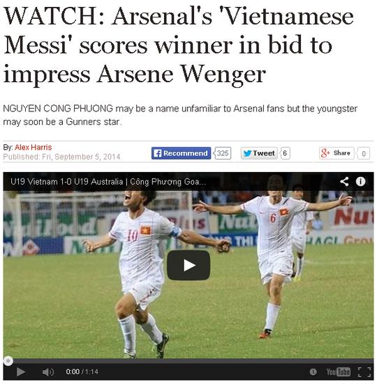 Bài báo trên Express