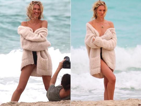 Candice Swanepoel là siêu mẫu danh tiếng nên cô khá bận rộn với lịch trình dày đặc