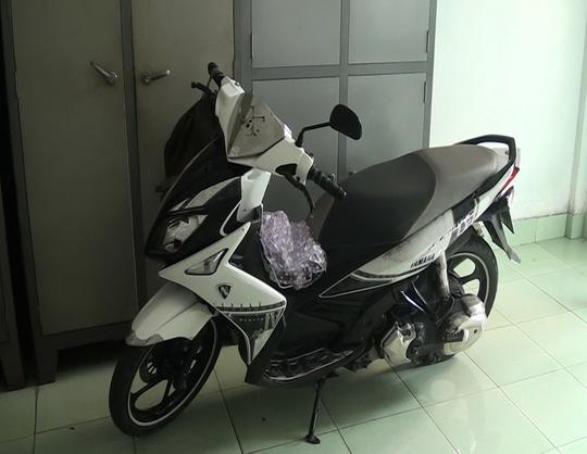 Chiếc xe máy mà Chung mang đi gây án được xác định là xe mà đối tượng này ăn trộm.