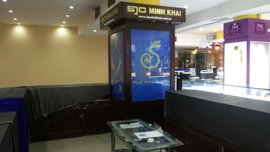 Cửa hàng kinh doanh vàng SJC Minh Khai bị thiệt hại nhiều nhất